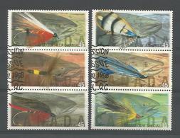 Canada 1998 Fly Fishing Y.T. 1561/1566  (0) - 1952-.... Reign Of Elizabeth II