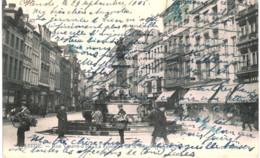 LIèGE    Rue Vinave-d'ile La Fontaine De La Vierge. - Luik
