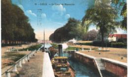 LIèGE     Le Canal De Maestricht. - Luik
