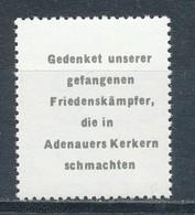 DDR Propagandamarke Adenauermarke ** Mi. - - [6] Democratic Republic