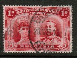 RHODESIA   Scott # 102b VF USED (Stamp Scan # 434) - Great Britain (former Colonies & Protectorates)