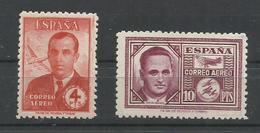 ESPAÑA  EDIFIL  991/92  MH  * - 1931-50 Nuevos & Fijasellos