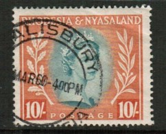 RHODESIA & NYASALAND   Scott # 151 VF USED (Stamp Scan # 434) - Rhodesia & Nyasaland (1954-1963)