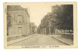 CPA 35 LA-GUERCHE-DE-BRETAGNE RUE DE RANNEE - La Guerche-de-Bretagne