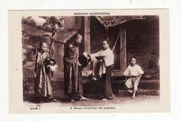 SIAM   Missions Salésiennes    Bonze Recueillant Des Aumônes - Thaïlande
