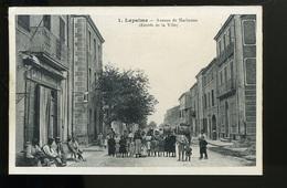 2018 12 09   Partie De Carte Double Palau, Lapalme Avenue De Narbonne, Entrée De La Ville - Otros Municipios