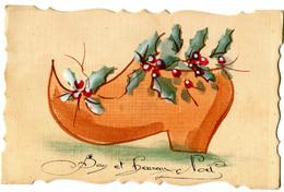 CPA Heureux Noel ( Sabot ) - Fantaisies