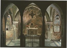V3237 Subiaco (Roma) - Sacro Speco Di San Benedetto - Altare Maggiore E Presbitario / Non Viaggiata - Altre Città