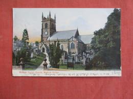 England > Derbyshire Matlock Parish Church   Has Stamp & Cancel  Ref 3096 - Derbyshire