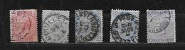 BELGIQUE 38 à 41 Oblitérés Rond - 1869-1883 Leopold II
