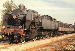 TRAIN Spécial FACS En 1970 - Locomotive NORD 141 TC N° 10 Et Anciennes Voitures Restaurant 1910 - Format CPM - 2 Scans - Matériel