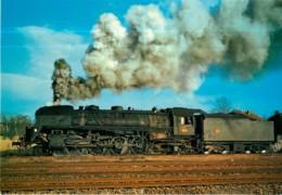 TRAIN 141 R 484 Au Démarrage à Sarralbe En 1973 - Ligne SARRALBE SARREGUEMINES - Format CPM - 2 Scans - Equipment