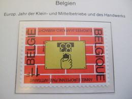BELGIUM   1983.   INDUSTRY  MNH ** (IS13-000) - European Ideas