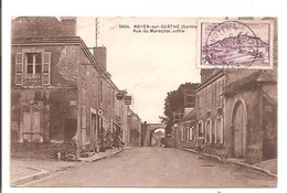72 - NOYEN SUR SARTHE - Rue Du Maréchal Joffre. - Frankreich