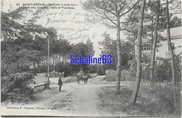 Saint-Brévin-l'Océan - Avenuedes Chalets , Vers Le Pointeau - Saint-Brevin-l'Océan