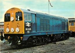 TRAIN Diesel Series D 220 - English Electric Class 20 1, 000 Bhp - Format CPM - 2 Scans - Matériel