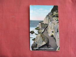 England > Devon > Ilfracombe Capstone Parade & Rocks - Has Stamp & Cancel-ref 3096 - Ilfracombe