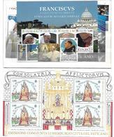 VA029 - VATICANO ANNATA COMPLETA NUOVA 2016 - SOLO FRANCOBOLLI VATICANO - NO CONGIUNTE - Vatican