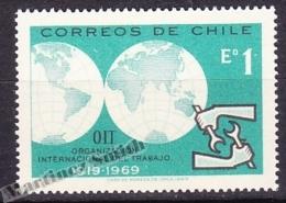 Chile - Chili 1969 Yvert 341, 50th Anniversary Of The International Labour Organization - MNH - Chile