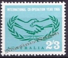 Australia 1965 Yvert 318, International Co-Operation Year - MNH - 1952-65 Elizabeth II: Ediciones Pre-Decimales