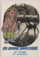 CPM - HUMOUR - Thème PECHE A LA LIGNE - Illustration ALEXANDRE - Edition Lyna / Série N°845 - Humour