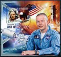 [32332]BL260 Yvert, Neil Armstrong, Astronaute, Gemini 8, Apollo 11 - Burundi