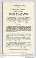 ASSENOIS ..-- LEGLISE ..-- Joseph FRANCOIS , Curé émérite D' ASSENOIS , Né à SAINT - LEGER En 1872 , Décédé En 1951 . - Léglise