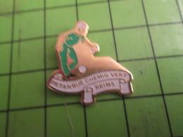 713G Pins Pin's / Rare & De Belle Qualité  THEME : SPORTS / PETANQUE DU CHEMIN VERT REIMS - Bowls - Pétanque