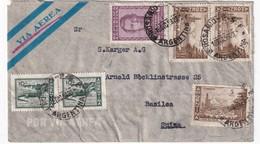 ARGENTINE 1959 PLI AERIEN RECOMMANDE DE ROSARIO AVEC CACHET ARRIVEE BALE - Argentine