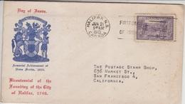 Canada Cover 1943 (A-368) - 1937-1952 George VI