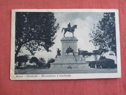 Italy > Lazio > Roma (Rome) Monument Garibaldi     Has  Stamp & Cancel     -ref 3096 - Roma (Rome)