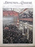 La Domenica Del Corriere 30 Aprile 1905 Sciopero Dei Ferrovieri Bonmartini Mecca - Libri, Riviste, Fumetti