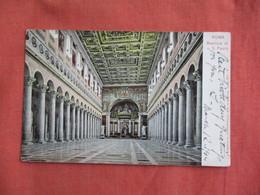 Italy > Lazio > Roma (Rome)    Basilica Di S. Palo  Has  Stamp & Cancel     -ref 3096 - Places