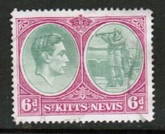 ST.KITTS NEVIS   Scott # 85 VF USED (Stamp Scan # 434) - St.Christopher-Nevis-Anguilla (...-1980)
