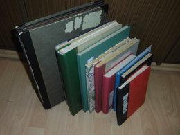 Posten Sammlung Alle Welt 10 Alben Deutschland Europa Übersee Viele ältere (42) - Sammlungen (im Alben)