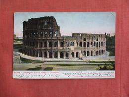 Italy > Lazio > Roma (Rome)    Anfiteatro Has  Stamp & Cancel     -ref 3096 - Places