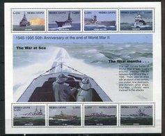 Sierra Leone ** Bloc 263 - Batiments De Guerre - Sierra Leone (1961-...)