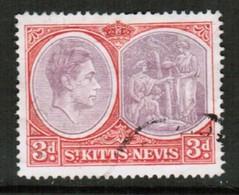 ST.KITTS NEVIS   Scott # 84 VF USED (Stamp Scan # 434) - St.Christopher-Nevis-Anguilla (...-1980)