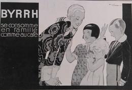 Affiche Publicité BYRRH 1930  René VINCENT , Illustrateur - Publicités