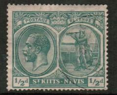 ST.KITTS NEVIS   Scott # 37 VF USED (Stamp Scan # 434) - St.Christopher-Nevis-Anguilla (...-1980)