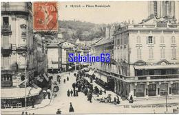 Tulle - Place Municipale - 1916 - Tulle