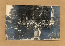 CPA - SAULXURES-les-BULGNEVILLE (88) - Carte-Photo Le Jour De L'inauguration Du Monument Aux Morts - France