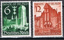 ALLEMAGNE EMPIRE 652/653** - Deutschland