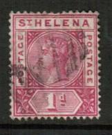 ST.HELENA   Scott # 41 VF USED (Stamp Scan # 434) - Saint Helena Island