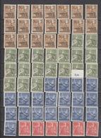 Deutschland Deutsches Reich ** 850-853 8 Jahre Arbeitsdienst Mehrfach Katalog 76,00 - Deutschland