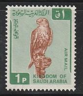 ARABIE SAOUDITE - PA N°91 ** (1968) Faucon - Arabie Saoudite