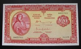 Ireland 20 Pounds 1976 - Irlande