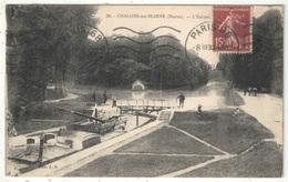 51 - CHALONS-SUR-MARNE - L'Ecluse - JB 30 - 1930 - Péniche - Châlons-sur-Marne
