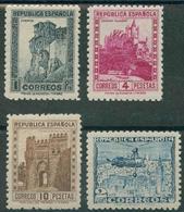 España 1938. Edifil 770/72** - Monumentos Y Autogiro - 1931-50 Nuevos & Fijasellos
