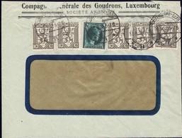 1932 Lettre Commerciale,Compagnie Générale Des Goudrons, Luxembourg, Michel 5x233, 239 - Lettres & Documents